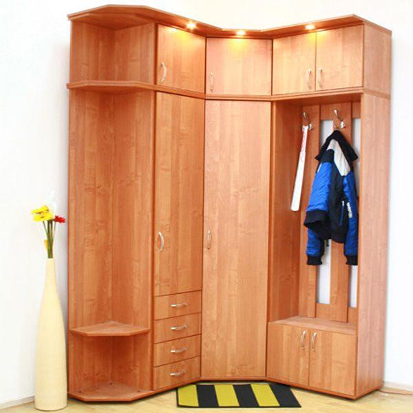 Прихожие для маленького коридора - дизайн, угловые, в кварти.